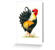 """PLENTY TO CROW ABOUT"" Greeting Card"
