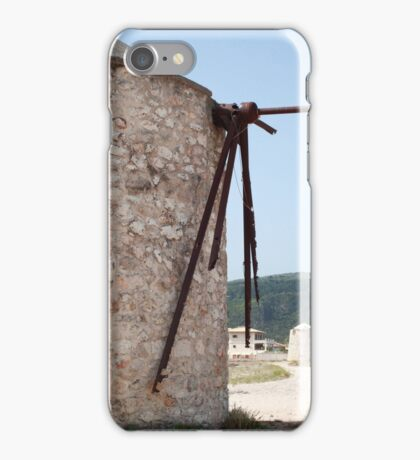 Mills of Lefkada iPhone Case/Skin