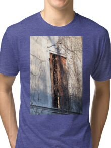 detail of ruined house Tri-blend T-Shirt