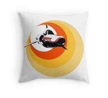 Turbo Boost Throw Pillow