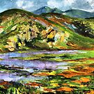 """The lake and the mountains by """" RiSH """""""