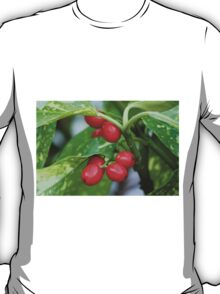 red berries in the garden T-Shirt