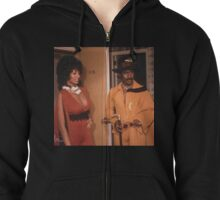 Pam Grier in Coffy Zipped Hoodie