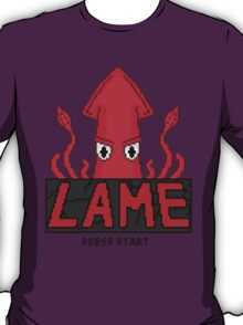 LAME Squid Pixel Art T-Shirt
