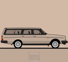 Volvo 240 Sticker