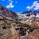 Sierra Nevada mountain range by Nancy Richard