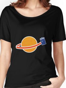 Doctor Who - Travelling Thorugh Space T-shirts Women's Relaxed Fit T-Shirt