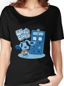 Doctor Who - Who's Clues T-shirts Women's Relaxed Fit T-Shirt