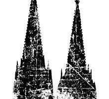 Kölner Dom Vintage by theshirtshops