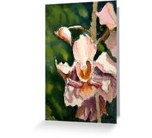 Orchid ACEO id1250976 Greeting Card
