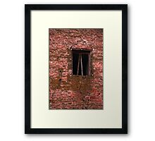 old  walls of the castle Framed Print