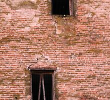 old  walls of the castle by spetenfia