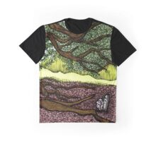 Decatur Cemetery Graphic T-Shirt