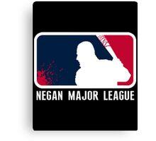 Negan Major League Canvas Print
