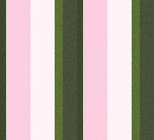 Pink Roses in Anzures 3 Stripes 3V by Christopher Johnson