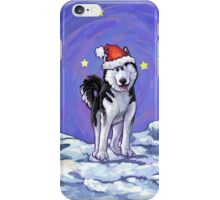 Husky Christmas iPhone Case/Skin