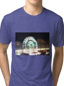 lights at the carnival Tri-blend T-Shirt