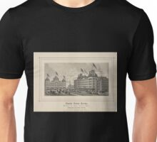 218 Grand Union Hotel opposite the Grand Central Depot Fourth Avenue 41st 42d Sts New York G F W D Garrison managers Also proprietors of the Highland House Garrison NY Unisex T-Shirt