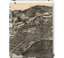 Vintage Pictorial Map of Aspen Colorado (1893) iPad Case/Skin