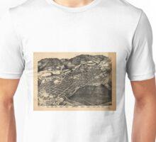 Vintage Pictorial Map of Aspen Colorado (1893) Unisex T-Shirt