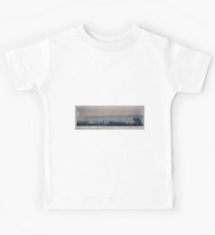 425 Panoramic view of New York from the East River Kids Tee