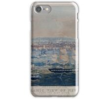 425 Panoramic view of New York from the East River iPhone Case/Skin