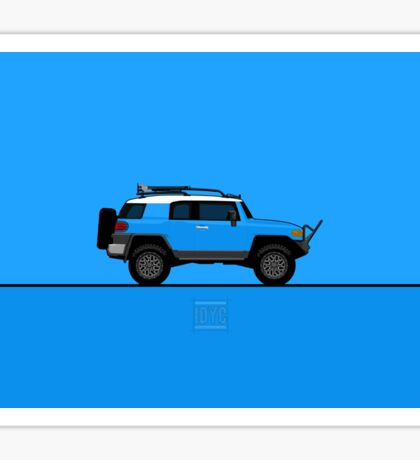 Toyota FJ Cruiser Sticker