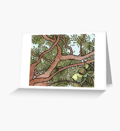 Bodhi Tree Greeting Card