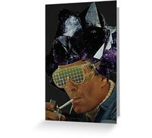 Crystal Dude  Greeting Card