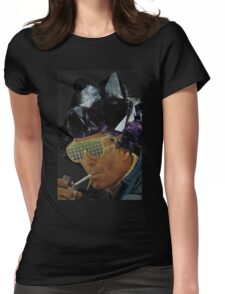 Crystal Dude  Womens Fitted T-Shirt