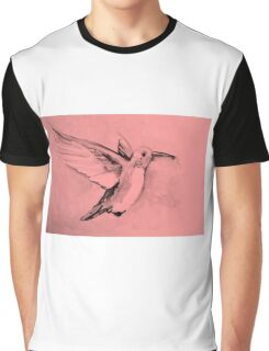 Watercolor of hummingbird Graphic T-Shirt