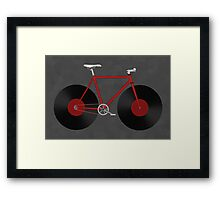 Record Fixie Framed Print