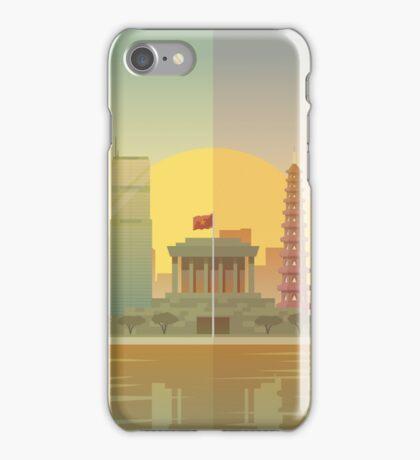 Vietnam Hanoi Illustration iPhone Case/Skin
