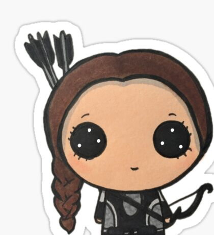 Katniss Everdeen Sticker