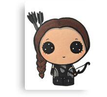 Katniss Everdeen Canvas Print