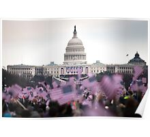 United States Presidential Inauguration Poster