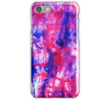Hot Pink Abstraction iPhone Case/Skin