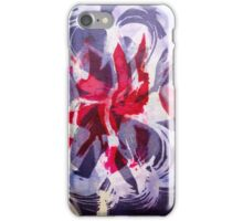 Flower Frenzy an Abstract Expression iPhone Case/Skin