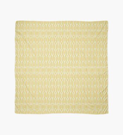 Yellow decorative knit seamless pattern Scarf