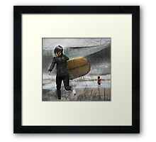 The Vibration of my life  Framed Print