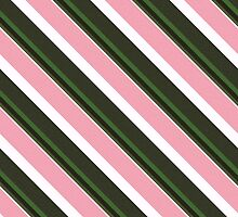 Pink Roses in Anzures 3 Stripes 5D by Christopher Johnson