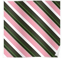 Pink Roses in Anzures 3 Stripes 5D Poster