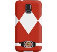 Red Ranger Galaxy Case Samsung Galaxy Case/Skin