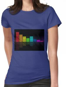 music bars Womens Fitted T-Shirt