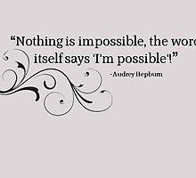 Audrey Hepburn by Louisa94