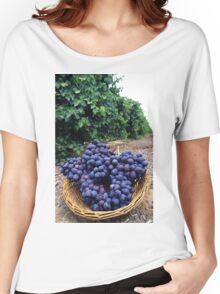 Grape Vineyard  Women's Relaxed Fit T-Shirt