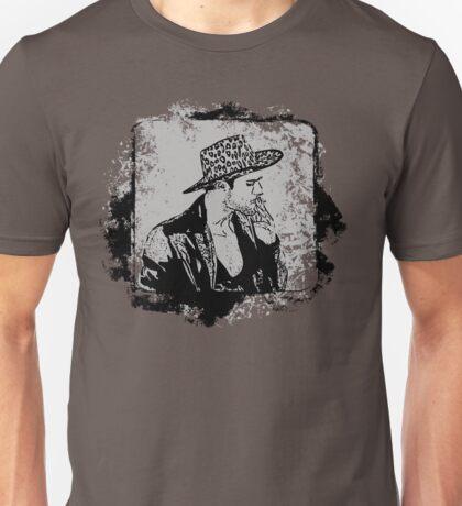 Cowboy Smoking Hat - Cool Grunge Vintage Unisex T-Shirt