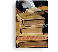 old book Canvas Print