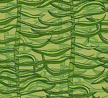 Aloe vera by Patternalized