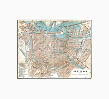 Vintage Map of Amsterdam (1905) T-Shirt